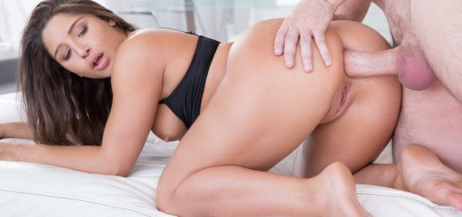 Tushy Abella Danger in Big Butt Teen Ass Fucked to Pay BF Debt with Manuel Ferrara 1