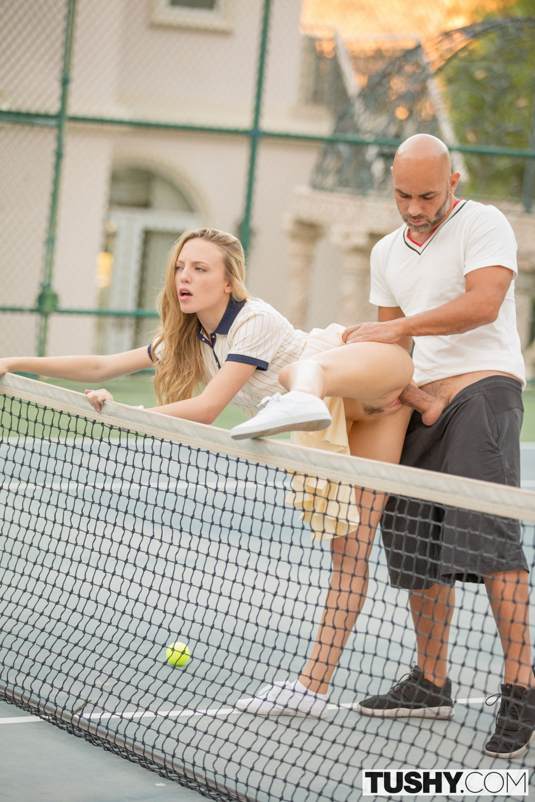 Tushy Aubrey Star In Tennis Student Gets Anal Lesson With -7542