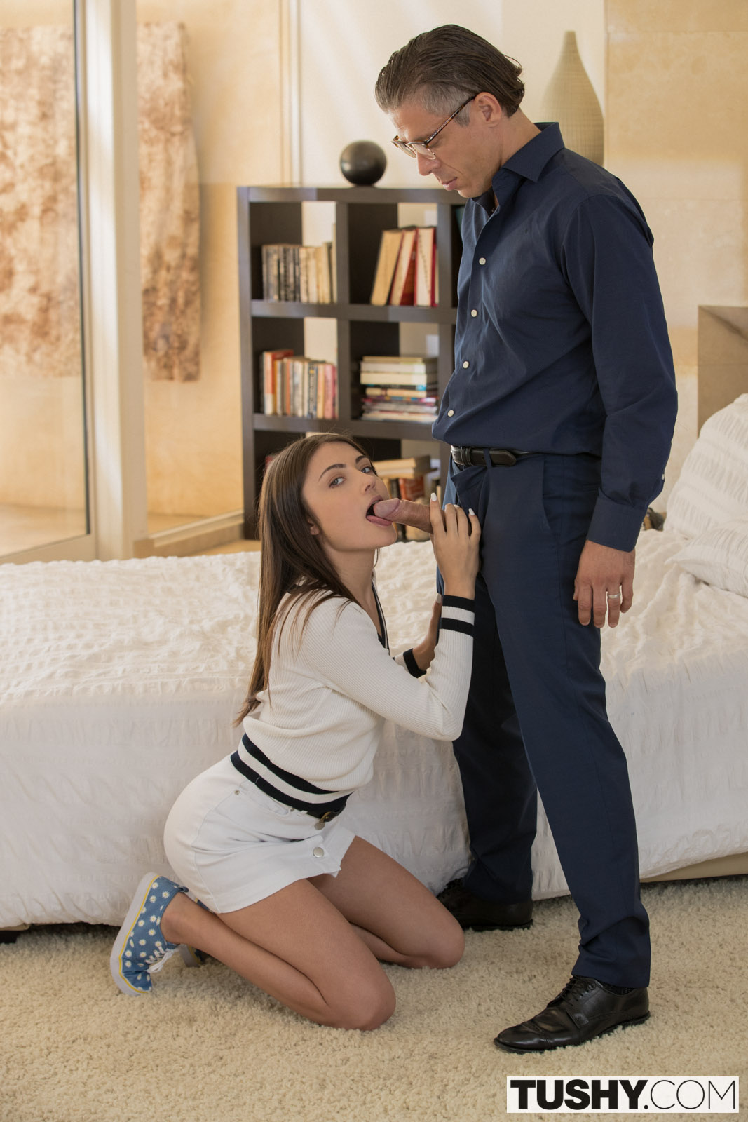 image Tushy college student gets punished by professor