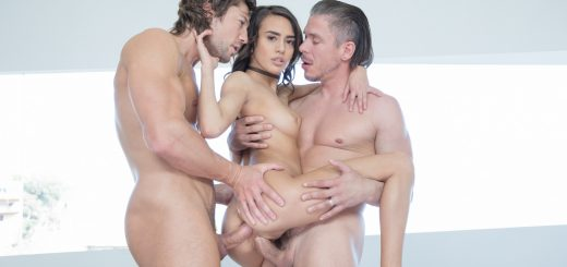 Tushy Janice Griffith in My Fantasy of a Double Penetration with Jean Val Jean & Mick Blue 14